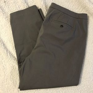 NWT Lane Bryant Outlet Grey Trousers 24